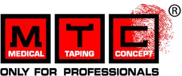 Medical Taping Concept logo