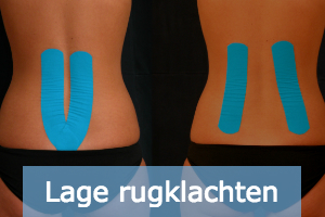 lage rugklachten medical tape