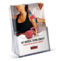 flyers-medical-taping-concept