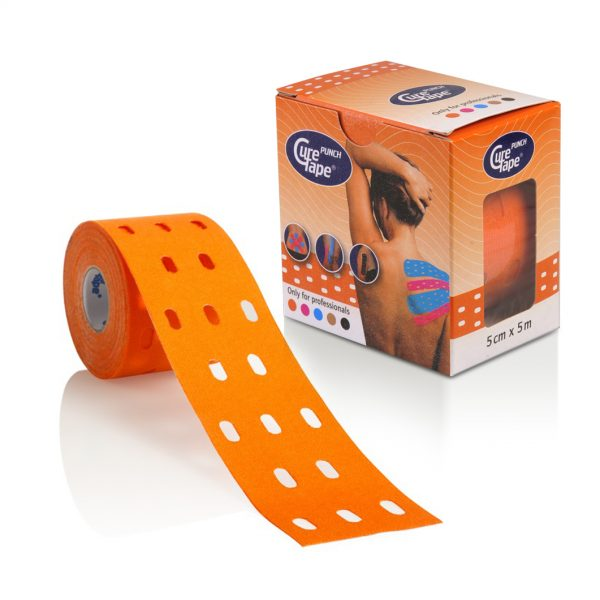 Afbeelding van CureTape® Punch 5cm x 5m (Oranje)