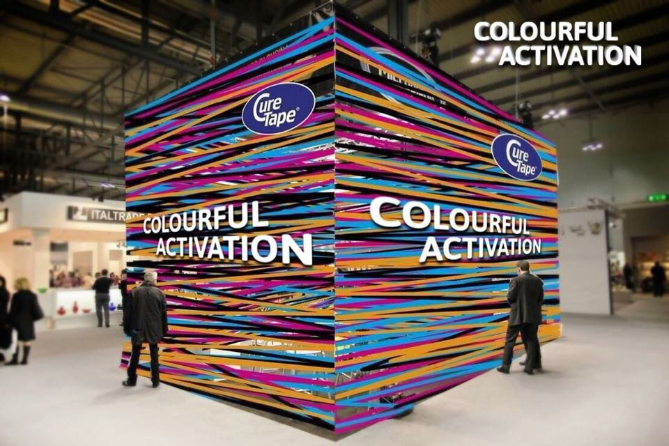 colourful activation