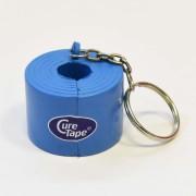 Sleutelhangers Curetape blauw