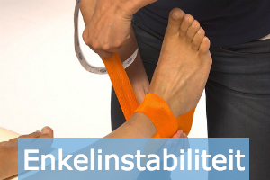 enkelinstabiliteit medical tape