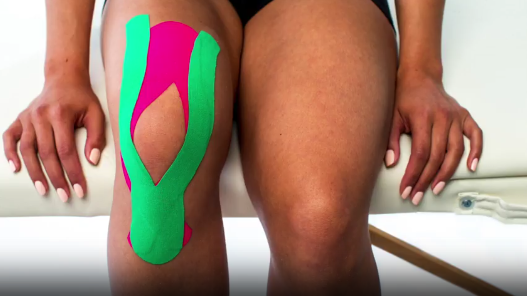 medical-taping-knie