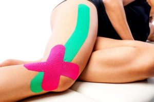 medical taping knie