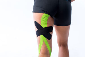 CureTape Sports - Lime/Zwart close-up