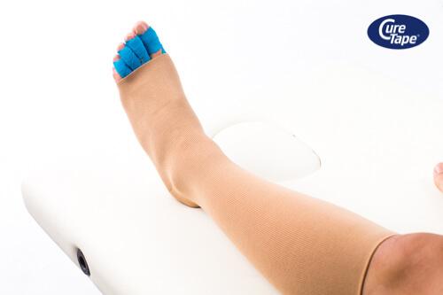 Lymf Taping voet CureTape - FysioTape