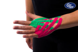 CureTape Lymf Taping hand - FysioTape