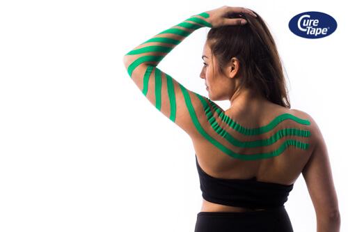 Lymf Taping arm CureTape - FysioTape