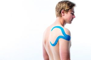 Medical Taping schouder impingement