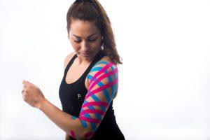 LymfTaping bovenarm