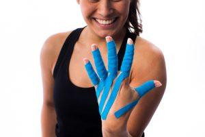 LymfTaping hand