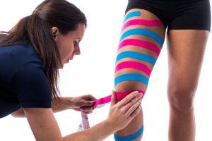 LymfTaping bovenbeen