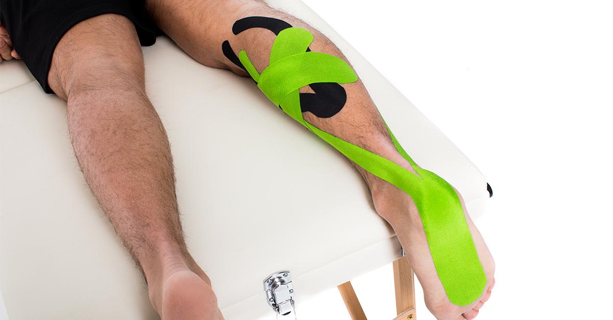 zweepslag tapen? behandeling met medical tape | fysiotape