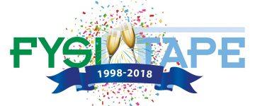 Logo 20 jaar FysioTape