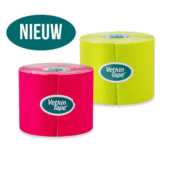 VetkinTape nieuwe kleuren | kinesiology tape