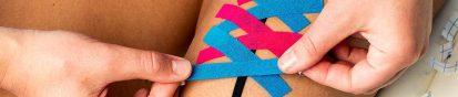 medical taping bij littekens | FysioTape