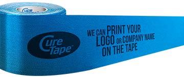 CureTape met eigen logo | FysioTape | Kinesiotape